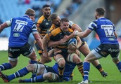 Freddie Burns bounces back as Wasps and Bath see out 10-try Champions Cup draw