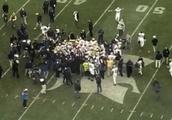 VIDEO: Michigan Celebrates Massive Win Over Michigan State by Stomping All Over Spartans Logo