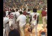 VIDEO: Bama Players Give Butch Jones a Gatorade Bath After Wrecking the Team That Fired Him