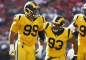 Unbeaten LA Rams rolling behind Aaron Donald's dominance