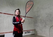 National champion Anabel Romero a natural on squash court