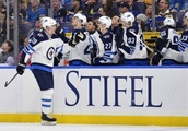 Jets Soar Past Blues 8-4 – Laine Nets 5 of Them