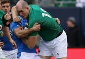Larmour hat-trick as Ireland rout Italy