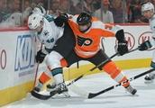 Flyers 3, Sharks 4 (OT): Meier stays hot as Sharks burn Flyers