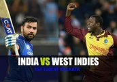 India vs West Indies 2018, 1st T20I, LIVE cricket score, Kolkata: Debutant Thomas removes India open