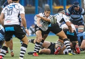 Cardiff Blues v Zebre, Guinness Pro14, Rugby Union, BT Sport Cardiff Arms Park, Cardiff, Wales, UK -