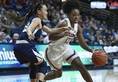 UConn women rout Vanguard in exhibition opener