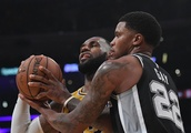Rudy Gay out vs. Magic with sore heel