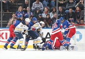 New York Rangers: Lundqvist steals a win and the winning streak is at three