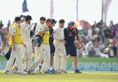 Rory Burns forced off after taking blow to back while fielding against Sri Lanka
