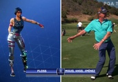 PGA Champions Tour Pros Attempted to Do the 'Fortnite' Dance Moves and Now My Eyes Hate Me