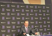 Northwestern-New Orleans press conference notes