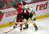 Sens Can't Hold Comeback, Lose 5-3 to Knights