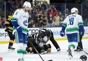 NHL 2018: Canucks VS Bruins NOV 08
