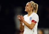 England lose out to Sweden as captain Steph Houghton wins landmark cap