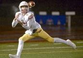 Muir tosses five touchdowns as Greenwich tops Danbury