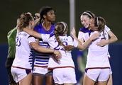 Katie McClure's pair of goals pushes Kansas Soccer past Saint Louis