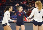 Dahlke returns to line-up in 5-set loss to Utah
