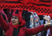 Iranian women allowed into top Tehran football match for first time in 37 years