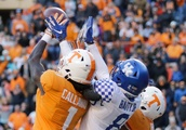 Tennessee's Hail Mary at the end of the first half against Kentucky almost never happened