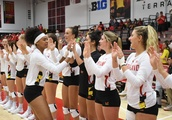 Maryland volleyball sweeps Ohio State on the road