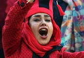 Women allowed to watch football game in Iran