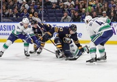 NHL Canucks VS Sabres, Buffalo, USA - 10 Nov 2018