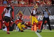 Buccaneers, Redskins Vegas odds