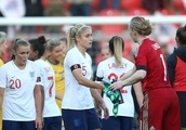 Lionesses lose out to Sweden as Houghton wins landmark cap