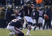 Watch: Bears Kicker Cody Parkey's Missed Kicks Were More Impressive Than His Made Ones