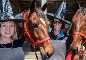Horse-owning coven of 100 witches swoop on Cup Day