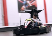Now you can race real-world go-karts through a VR world