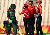 Debutant spinner Kirstie Gordon shines as England beat Bangladesh by seven wickets on DLS method in