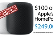 Lowest price ever: Apple's HomePod on sale for $249 ($100 off) with no tax in most states