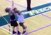 This college player's cheap shot was so dirty, he got banned from campus