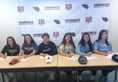 Greenwich High celebrates six Division I-bound athletes
