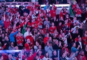 Blackhawks fans cheer for Quenneville during Colliton's first pregame intro