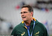 South Africa head coach Rassie Erasmus urges his players to 'grab the big moments' against Scotlan
