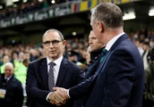 Fans criticised as Republic of Ireland and Northern Ireland anthems are booed ahead of kick-off