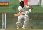 Cricket star is penalised five runs under a VERY unusual law – so can you spot what he did wrong?