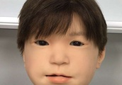 Researchers make android child's face strikingly more expressive