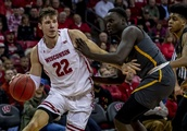 Ethan Happ becomes Wisconsin's all-time leading rebounder