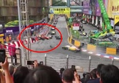 Teenage racer cheats death in terrifying crash at F3 Macau Grand Prix (VIDEO)