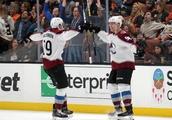 NHL roundup: Avs beat OT buzzer and Ducks