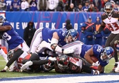 The plays that changed the game in Giants' 38-35 victory over Tampa Bay