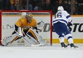 Predators get 15th win of season as Pekka Rinne leads victory over Lightning