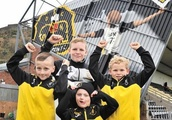 Sons are big fans of 'Barry the Cat' new art mural at Dumbarton FC