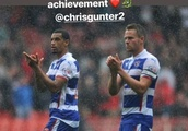 'Great player, absolute legend' - Reading FC players past and present pay tribute to Chris Gunter