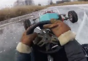 This Wheelie-Popping Ice Kart Is the Best Thing About Winter
