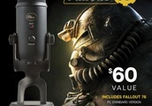 This $100 Blue Yeti mic comes with Fallout 76 for some reason
